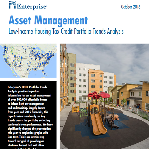 Enterprise Asset Management: Low-Income Housing Tax Credit Portfolio Trends Analysis