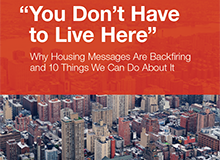 """You Don't Have to Live Here"" Report"