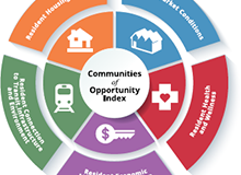 Communities of Opportunity Index Infographic