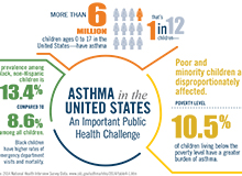 Asthma Infographic for APHA Conference Poster