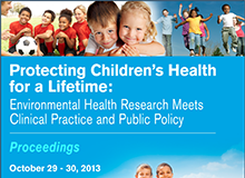 Protecting Children's Health for a Lifetime Conference Proceedings