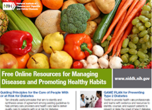 Free Online Resources for Managing Diseases and Promoting Healthy Habits Flyer