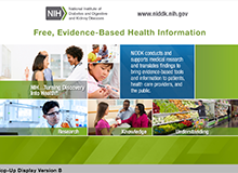 Free, Evidence-Based Health Information Hop-Up Display