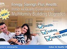 Energy Savings Plus Health: Indoor Air Quality Guidelines for Multifamily Building Upgrades Social Media Image