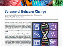 Science of Behavior Change Factsheet