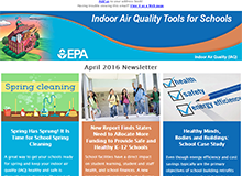 IAQ Tools for Schools E-Newsletter
