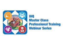 IAQ Master Class Professional Training Webinar Series Logo