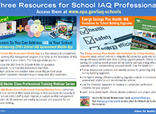 Resources for School IAQ Professionals Flyer